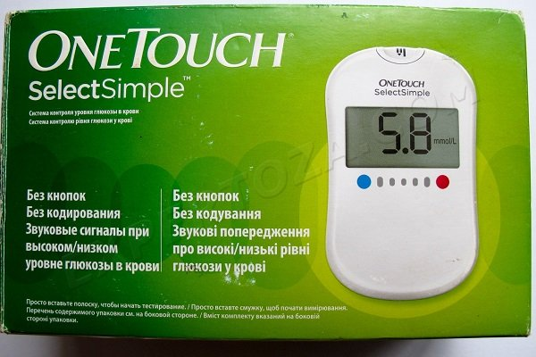 глюкометр One Touch Select Simple